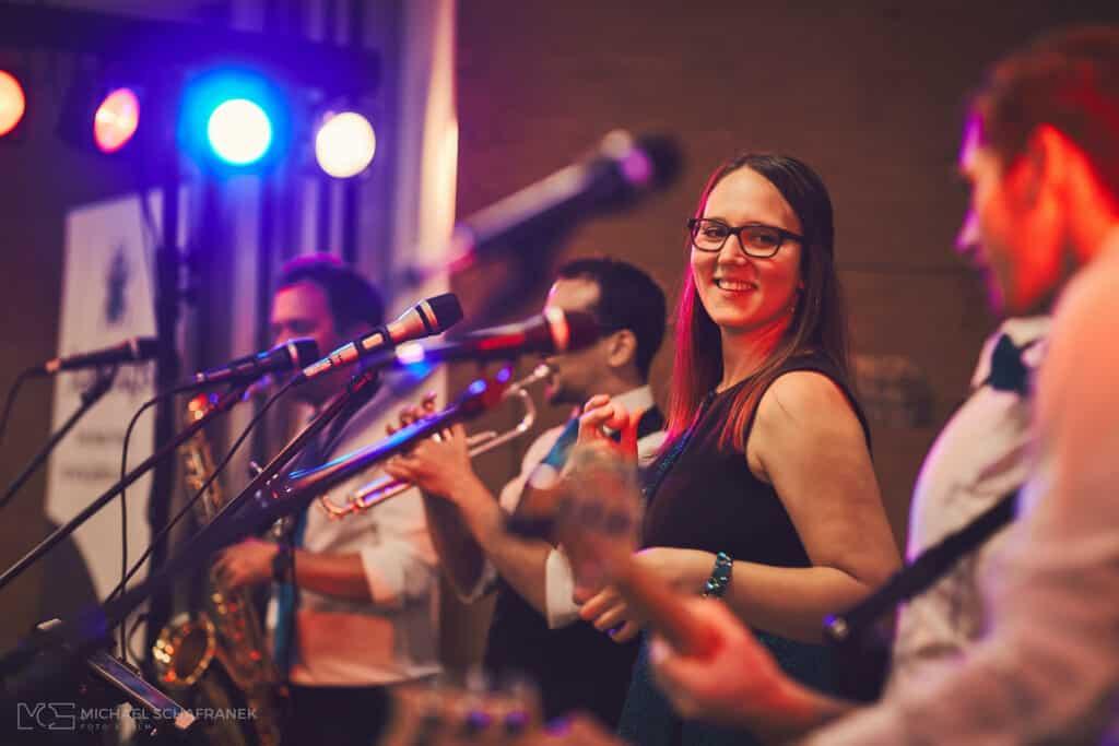 Musik für die Hochzeit von der Band Jukebugs